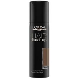Loreal Professionnel Hair Touch Up plaukų šaknis maskuojantis purškiklis Light Brown 75 ml.