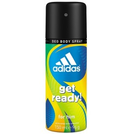 Adidas Get Ready! purškiamas dezodorantas vyrams 150 ml.