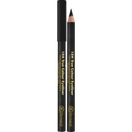 Dermacol 12H True Colour akių kontūro pieštukas 8 Black 0,28 g.