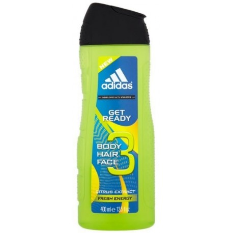 Adidas Get Ready! dušo gelis vyrams 400 ml.