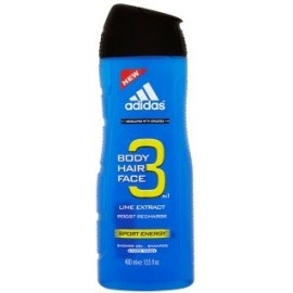 Adidas 3in1 Sport Energy dušo gelis vyrams 400 ml.