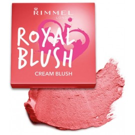 Rimmel Royal Blush Cream kreminiai skaistalai 003 Coral Queen 3,5 g.