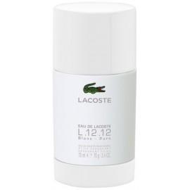 Lacoste L.12.12 Blanc pieštukinis dezodorantas vyrams 75 ml.
