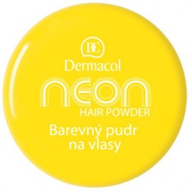Dermacol Neon plaukų pudra 2 g. Yellow
