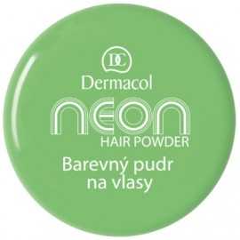 Dermacol Neon plaukų pudra 2 g. Green