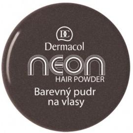 Dermacol Neon plaukų pudra 2 g. Glitter Black