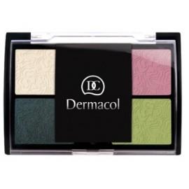 Dermacol Quattro akių šešėliai 5 g. For Green Eyes