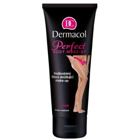 Dermacol Perfect Body Make-Up atspalvį suteikiantis kūno losjonas 100 ml. Sand