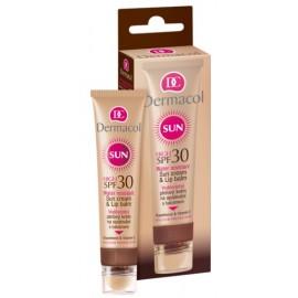 Dermacol Sun Cream & Lip Balm SPF 30 lūpų balzamas nuo saulės 30 ml.