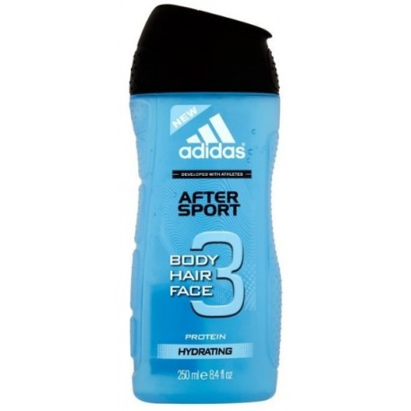 Adidas 3in1 After Sport dušo gelis vyrams 250 ml.