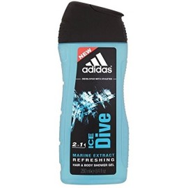 Adidas Ice Dive dušo gelis vyrams 250 ml.