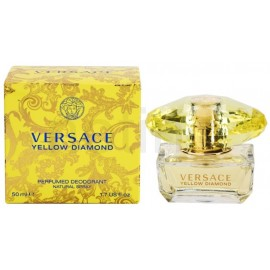 Versace Yellow Diamond purškiamas dezodorantas 50 ml.