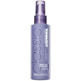 Toni&Guy Classic Spray Gel purškiama modeliavimo želė garbanotiems plaukams 150 ml.