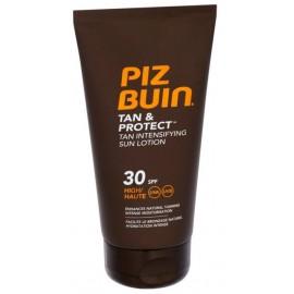 Piz Buin Tan&Protect Tan Intensifying Sun Lotion SPF30 apsauginis losjonas nuo saulės skatinantis greitesnį įdegį 150 ml.