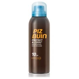 Piz Buin Protect&Cool Refreshing Mouse SPF10 gaivinančios apsauginės putos 150 ml.