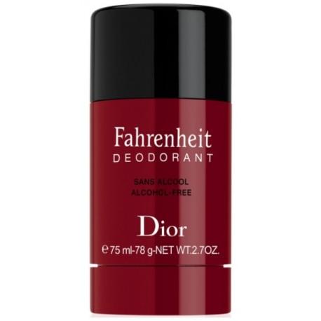 Dior Fahrenheit pieštukinis dezodorantas vyrams 75 ml.