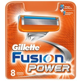 Gillette Fusion Power skustuvo galvutės 8 vnt.