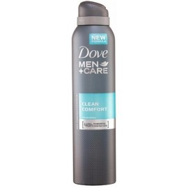 Dove Men + Care Clean Comfort 48h purškiamas antiperspirantas vyrams 150 ml.