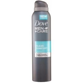 Dove Men + Care Clean Comfort 48h purškiamas antiperspirantas vyrams 250 ml.