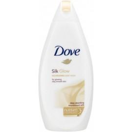 Dove Silk Glow  glotninamasis kūno prausiklis 700 ml.