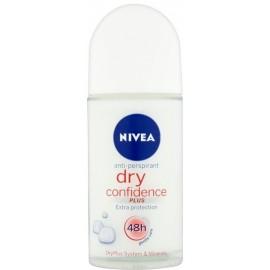 Nivea Dry Confidence rutulinis antiperspirantas 50 ml.