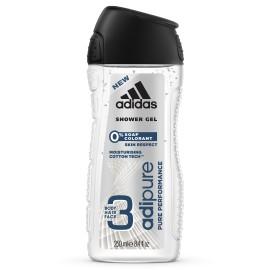 Adidas Adipure dušo gelis vyrams 250 ml.