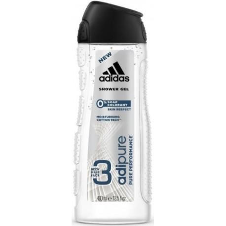 Adidas Adipure dušo gelis vyrams 400 ml.