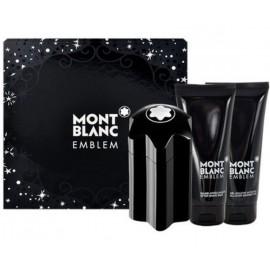 Mont Blanc Emblem rinkinys vyrams (100 ml. EDT + gelis + balzamas)
