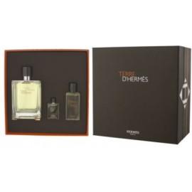 Hermès Terre d'Hermès rinkinys vyrams (100 ml. EDT + 5 ml. EDT + gelis)