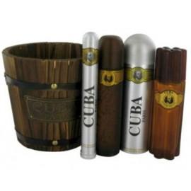 Cuba Gold rinkinys vyrams (100 ml. EDT + 35 ml. EDT + 100 ml. balzamas po skutimosi + 200 ml. dezodorantas)