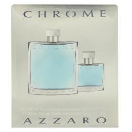 Azzaro Chrome rinkinys vyrams (200 ml. EDT + 30 ml. EDT)
