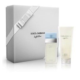 Dolce & Gabbana Light Blue rinkinys moterims (50 ml. EDT + losjonas)