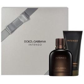 Dolce & Gabbana Pour Homme Intenso rinkinys vyrams (75 ml. EDP + balzamas po skutimosi)