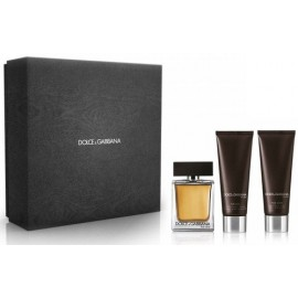 Dolce & Gabbana The One For Men rinkinys vyrams (100 ml. EDT+ 50 ml. dušo gelis + 50 ml. balzamas po skutimosi)