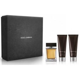Dolce & Gabbana The One For Men rinkinys vyrams (100ml+gelis+balzamas)