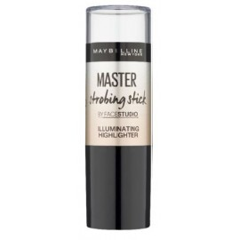 Maybelline Facestudio Master Strobing Stick Illuminate Highlighter švytėjimo suteikianti priemonė 200 Medium