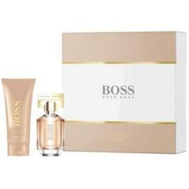 Hugo Boss The Scent for Her rinkinys moterims (100 ml. EDP + 100 ml. kūno losjonas)