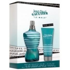 Jean Paul Gaultier Le Male rinkinys vyrams (125 ml. EDT + 75 ml. dušo gelis)
