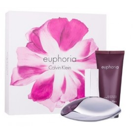 Calvin Klein Euphoria rinkinys moterims (50 ml. EDP ir 100 ml. kūno losjonas)