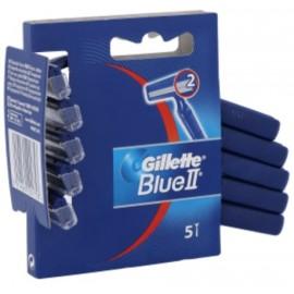 Gillette Blue II vienkartiniai skustuvai 5 vnt.