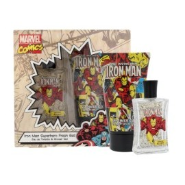 Marvel Comics Iron Man rinkinys vaikams (75 ml. EDT + dušo gelis)