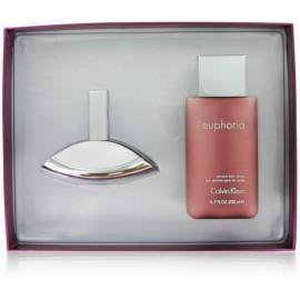 Calvin Klein Euphoria rinkinys moterims (50 ml. EDP ir 200 ml. kūno losjonas)