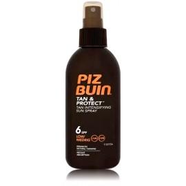 Piz Buin Tan Intensifier Sun Spray SPF6 apsauginis purškiklis skatinantis greitesnį įdegį 150 ml.