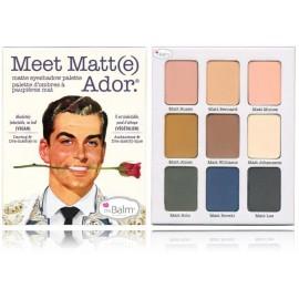 The Balm Meet Matt(e) Ador Eyeshadow Palette šešėlių paletė 21,6 g.