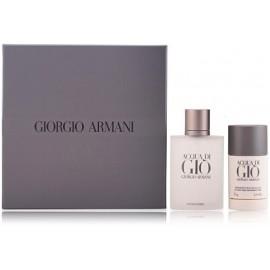 Armani Acqua di Gio rinkinys vyrams (100 ml. EDT + dezodorantas)