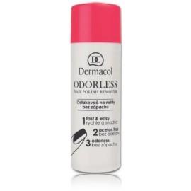 Dermacol Odorless bekvapis nagų lako valiklis 120 ml.
