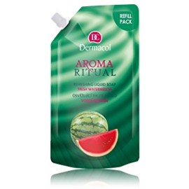 Dermacol Aroma Ritual Liquid Soap Fresh Watermelon skysto muilo papildymas 500 ml.