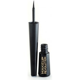 Makeup Revolution Amazing Liquid Eyeliner skystas akių vokų pravedimas Ultra Black 3 ml.