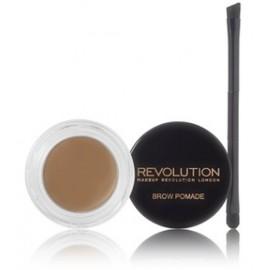 Makeup Revolution Brow Pomade priemonė antakiams su šepetėliu Blonde 2.5 g.
