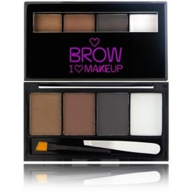 Makeup Revolution I Love Makeup Brow Kit rinkinys antakiams Bold Is Best 4,5 g.